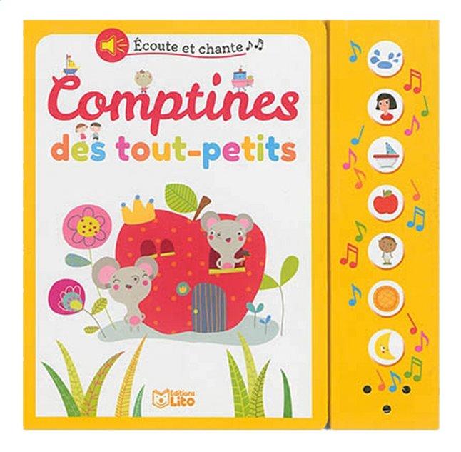 Afbeelding van Boek Écoute et chante : Comptines des tout-petits from Dreambaby