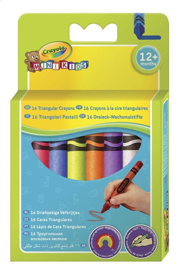 Afbeelding van Crayola Driehoekig waskrijtje Mini Kids - 16 stuks from Dreambaby