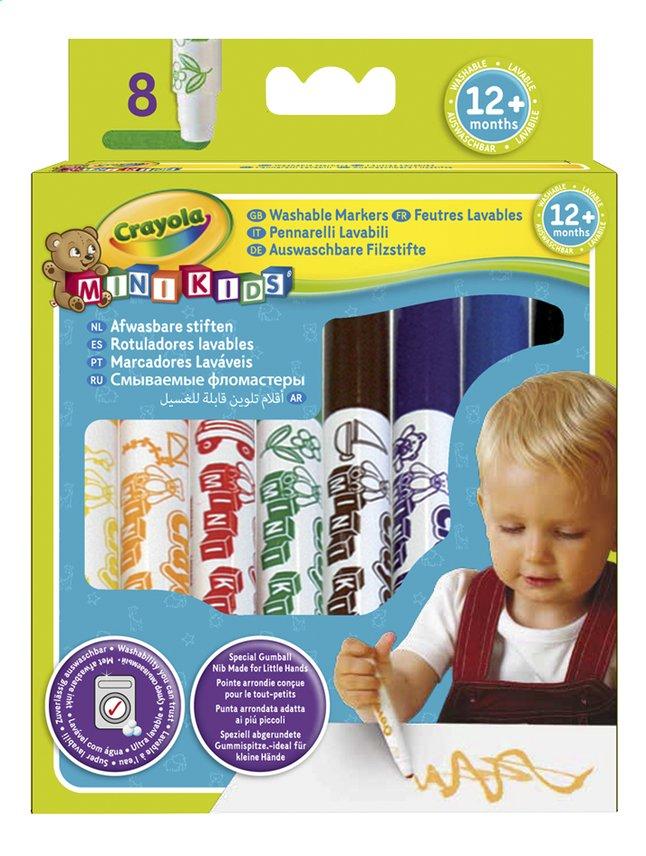 Afbeelding van Crayola Wasbare viltstiften Mini Kids - 8 stuks from Dreambaby