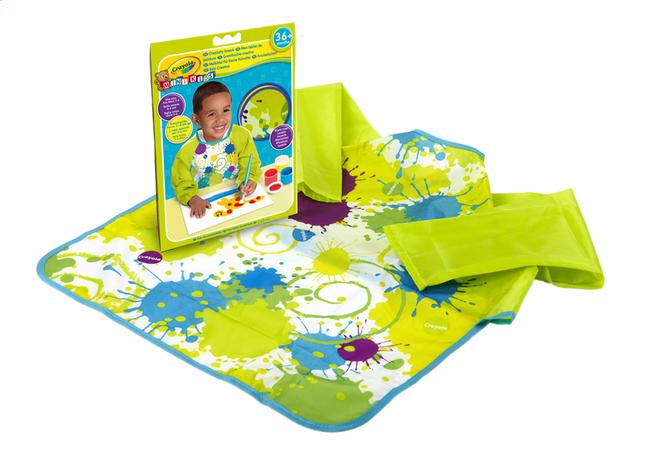 Afbeelding van Crayola Verfschort Mini Kids groen from Dreambaby
