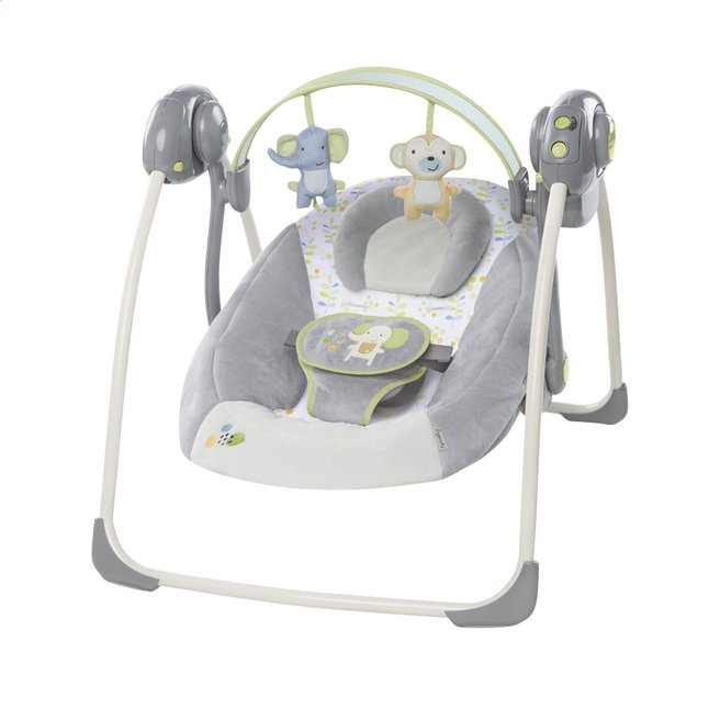 Afbeelding van Ingenuity Babyswing Portable Swing buzzy bloom from Dreambaby