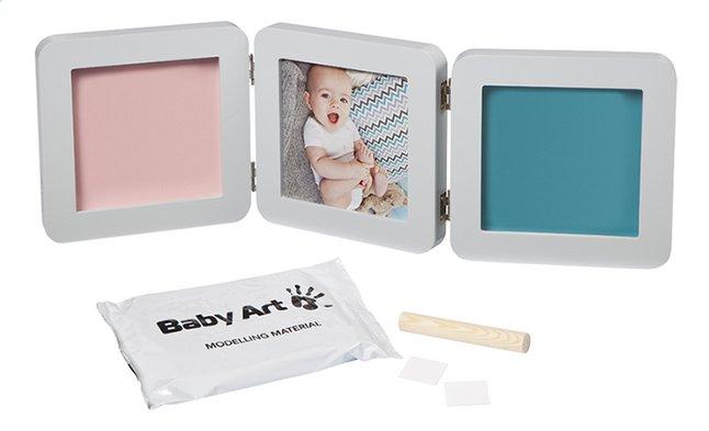 Baby Art Fotokader met gipsafdruk Essentials My baby touch pastel