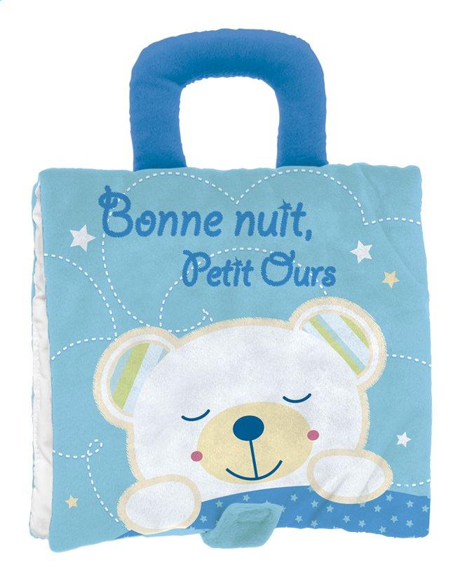 Afbeelding van Knuffelboekje Bonne nuit, Petit ours FR from Dreambaby