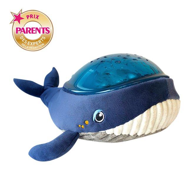 Pabobo Veilleuse/projecteur Baleine Aqua Dream