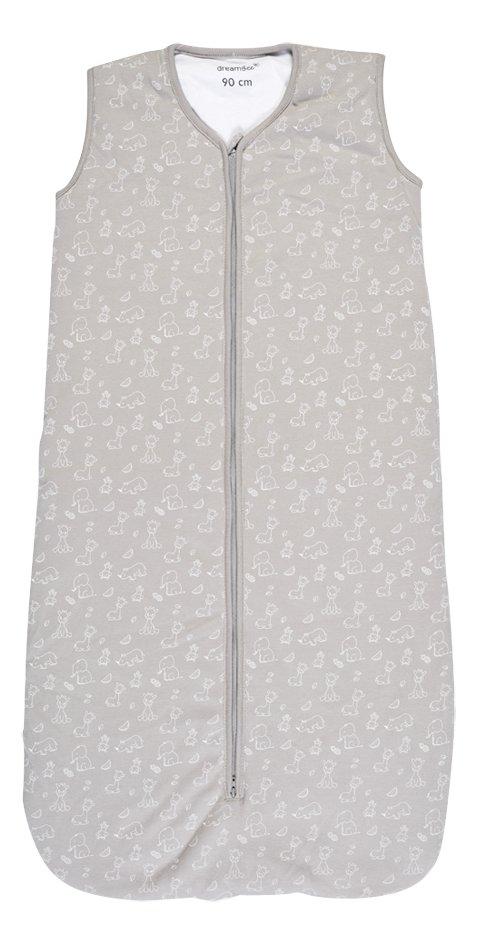Dreambee Sac de couchage Tobi coton gris 90 cm