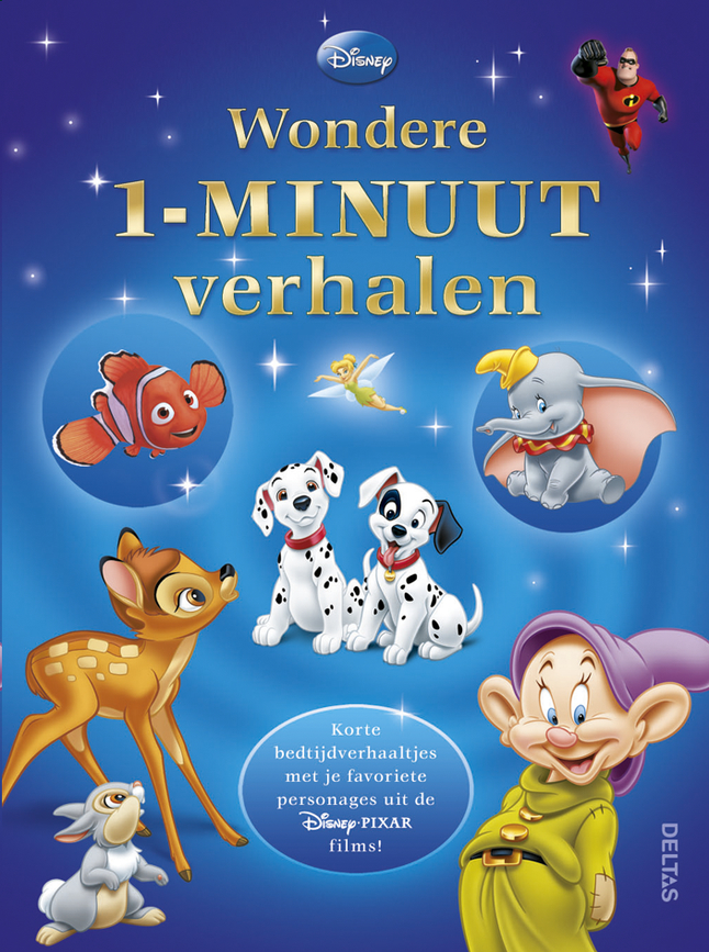 Afbeelding van Disney Wondere 1-minuut verhalen from Dreambaby