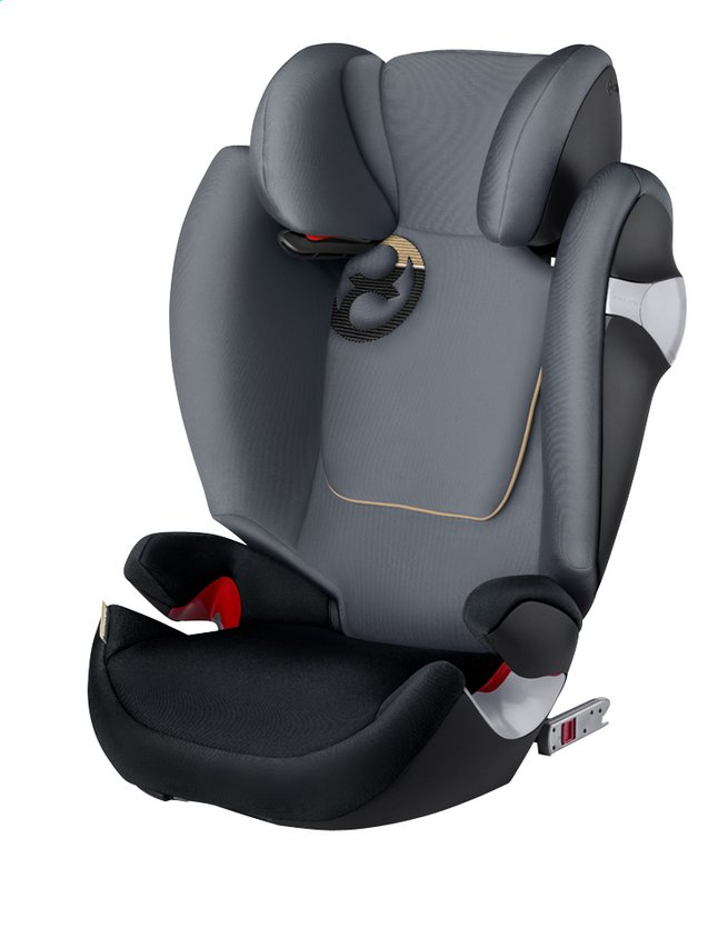 Afbeelding van Cybex Autostoel Solution M-Fix Groep 2/3 graphite black from Dreambaby