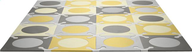 Afbeelding van Skip*Hop Puzzeltegels Playspot gold/grey - 20 stuks from Dreambaby
