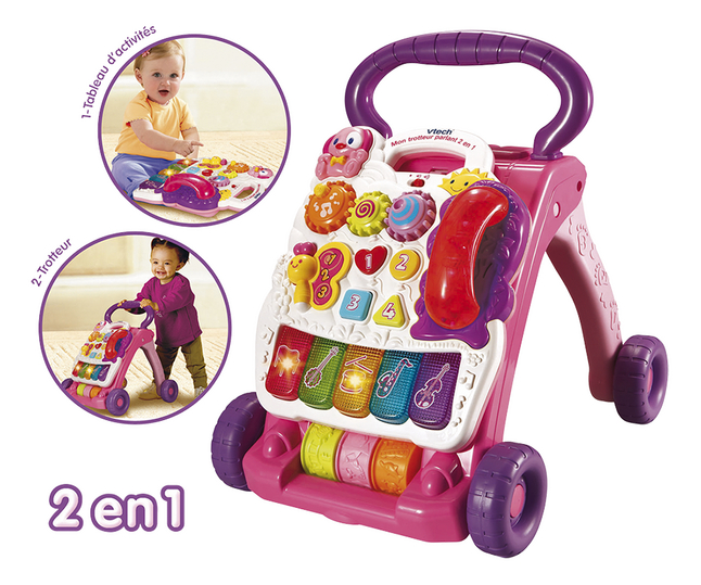 Afbeelding van VTech Super Trotteur parlant rose FR from Dreambaby