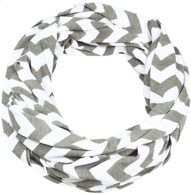 Image pour Itzy Ritzy Châle/écharpe d'allaitement Nursing Happens Infinity grey chevron à partir de Dreambaby