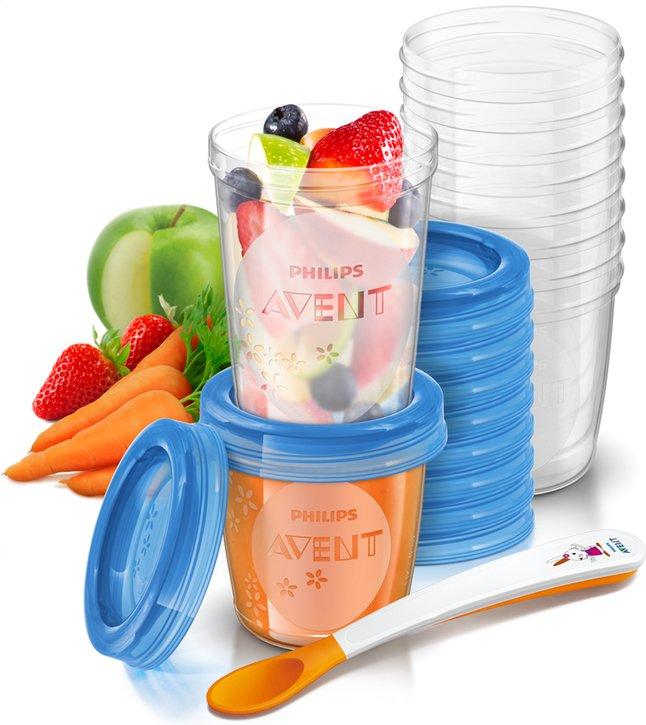 Image pour Philips AVENT 20 pots de conservation de 180 ml et 240 ml à partir de Dreambaby