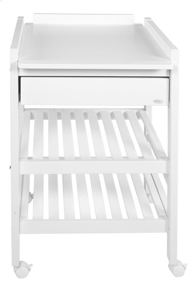 Image pour Troll Table à langer avec tiroir Loft blanc à partir de Dreambaby