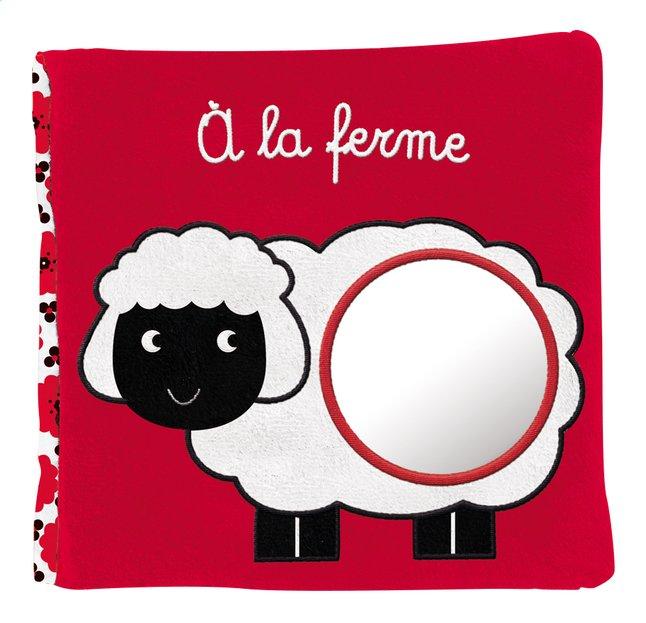 Afbeelding van Knuffelboekje À la ferme - Francesca Ferri FR from Dreambaby