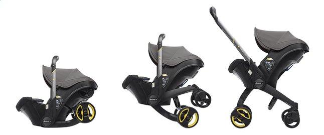 Afbeelding van Doona+ Omvormbare draagbare autostoel Groep 0+ greyhound from Dreambaby