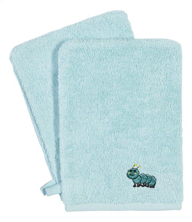 Image pour Dreambee Gant de toilette Nino menthe Lg 15 x L 21 cm - 2 pièces à partir de Dreambaby