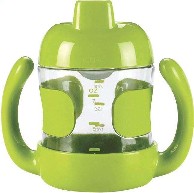 Afbeelding van OXO Tot Oefenbeker 200 ml apple green from Dreambaby