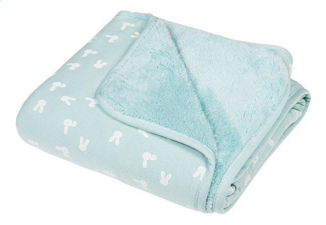 Image pour Dreambee Couverture pour berceau ou parc Nino menthe soft fleece à partir de Dreambaby