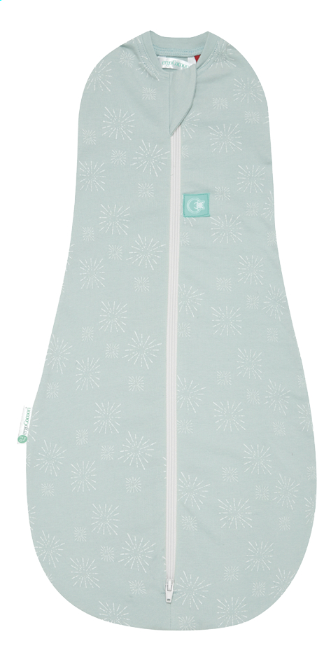 Ergopouch Sac d'emmaillotage ErgoCocoon 3 - 12 mois mint stars