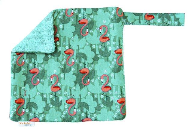 Afbeelding van Trixie Fopspeendoekje Flamingo groen from Dreambaby