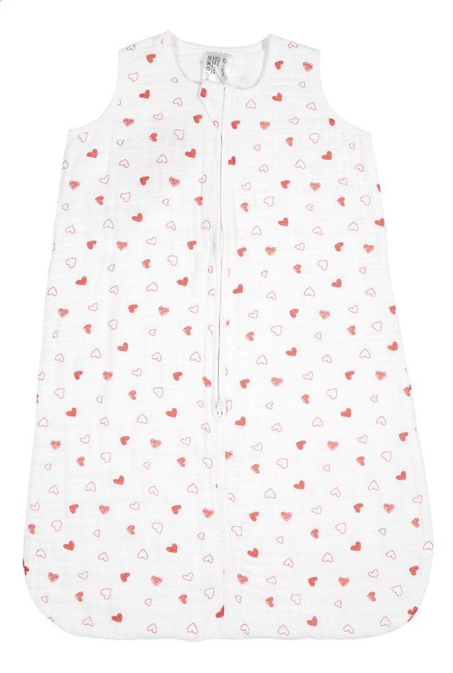 Afbeelding van Dreambee Zomerslaapzak Essentials hartje tetra wit 70 cm from Dreambaby