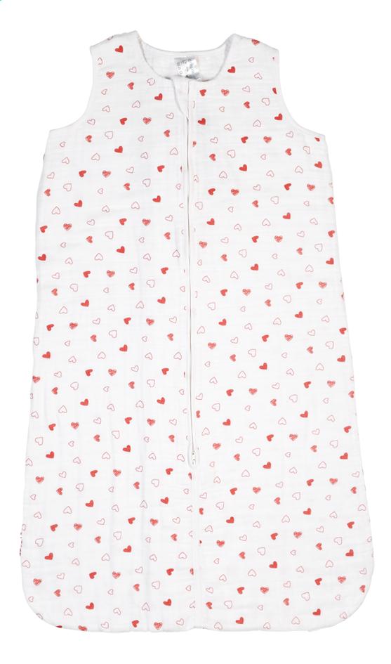 Afbeelding van Dreambee Zomerslaapzak Essentials hartje tetra wit 90 cm from Dreambaby