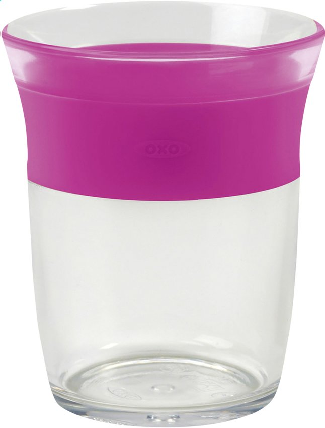 Afbeelding van OXO Tot Glas pink 150 ml from Dreambaby