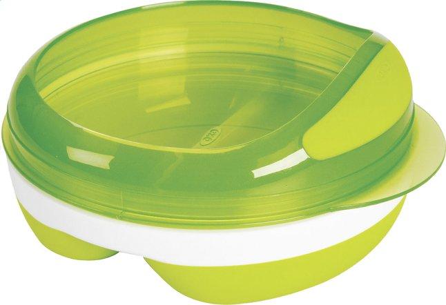 Afbeelding van OXO Tot Bord met vakken apple green from Dreambaby