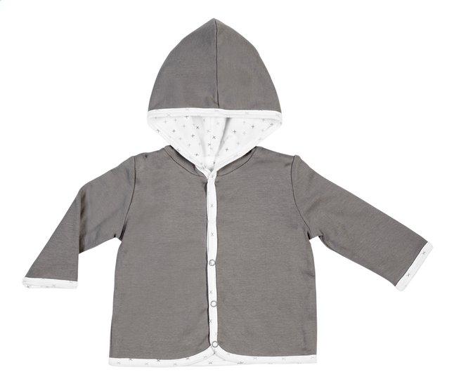 Image pour Dreambee Cardigan Essentials avec capuchon croix gris taille 62/68 à partir de Dreambaby