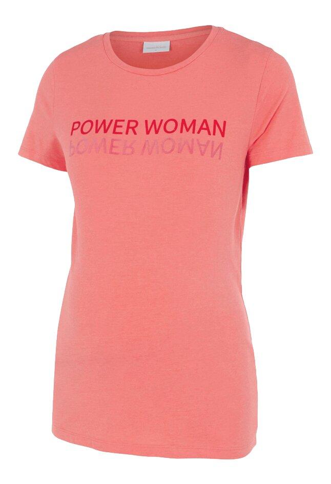Mamalicious T-shirt à manches courtes Power Woman Sugar Coral