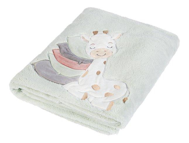 Dreambee Deken voor bed Tobi soft fleece lichtgroen