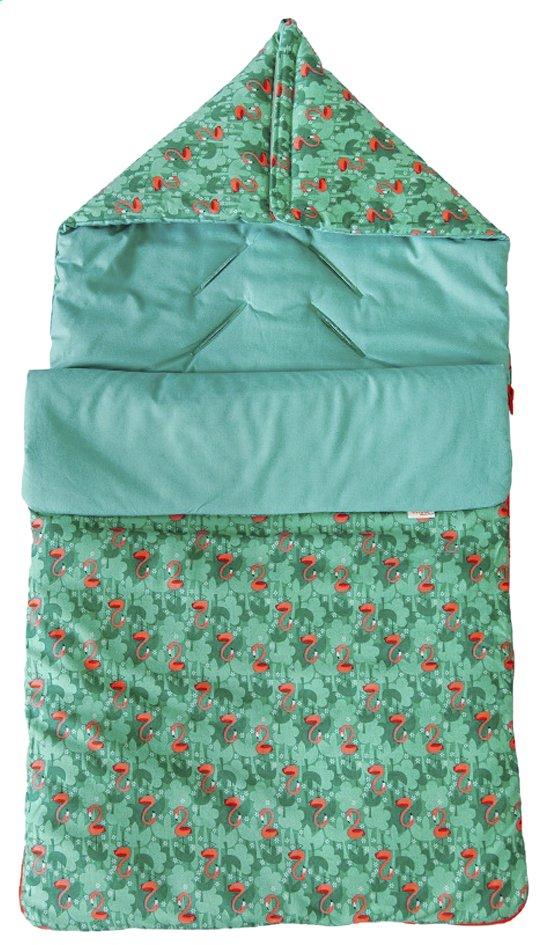 Afbeelding van Trixie Voetenzak voor draagbare autostoel Flamingo groen from Dreambaby