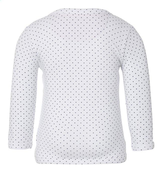 Image pour Noppies T-shirt à longues manches Kim white taille 68 à partir de Dreambaby