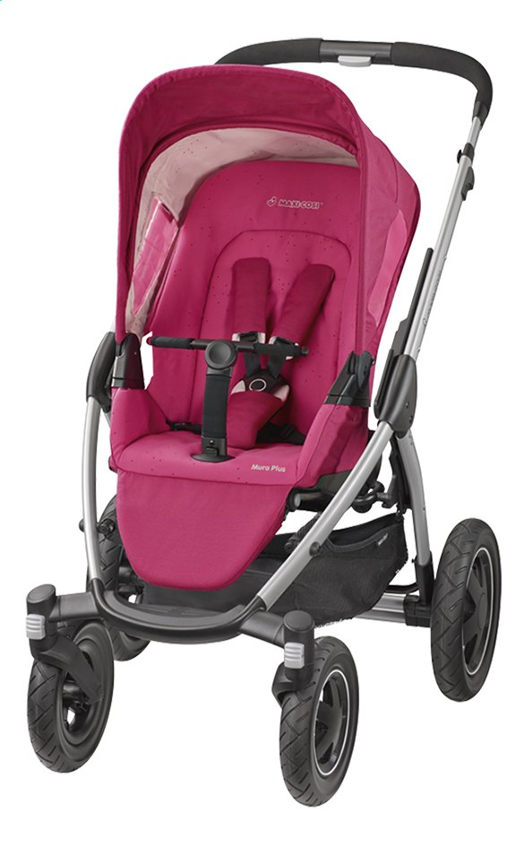 Afbeelding van Maxi-Cosi Wandelwagen Mura 4+ berry pink from Dreambaby