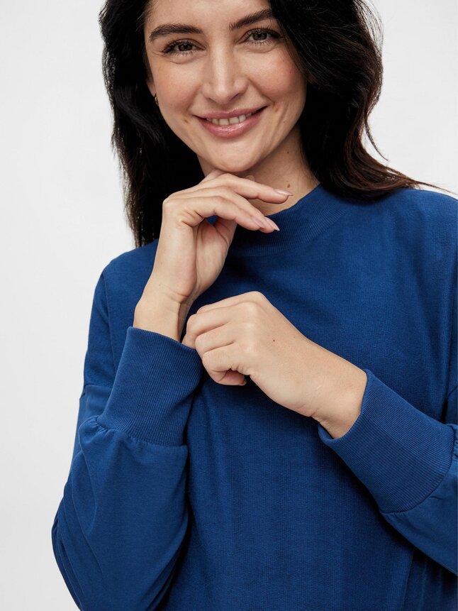 Mamalicious Sweater Estate Blue