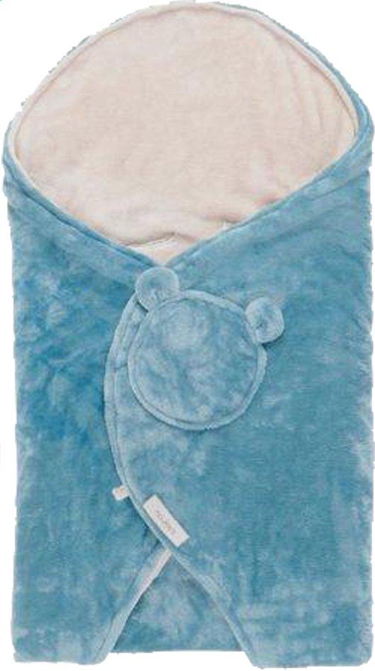 Image pour Noukie's Couverture enveloppante turquoise à partir de Dreambaby