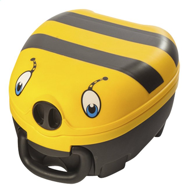 Image pour My Carry Potty Petit pot abeille noir/jaune à partir de Dreambaby