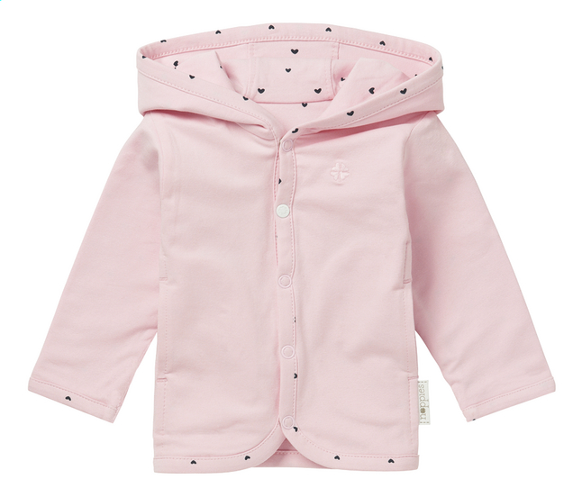 Afbeelding van Noppies Cardigan Novi light rose maat 50 from Dreambaby