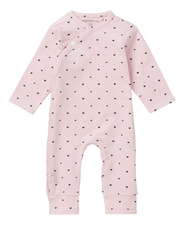 Afbeelding van Noppies Pyjama Nemi light rose maat 44 from Dreambaby