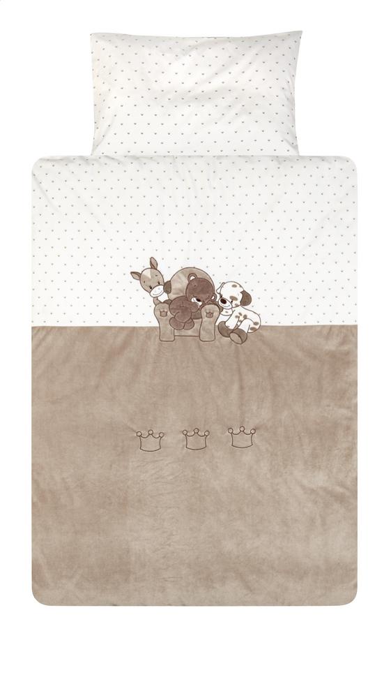 Afbeelding van Nattou Dekbedovertrek voor bed Max, Noa & Tom polyester/katoen from Dreambaby
