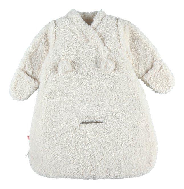 Noukie's Sac de couchage Mix & Match Nomade fleece écru