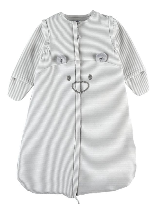 Noukie's Sac de couchage Mix & Match Nomade gris clair 70 cm