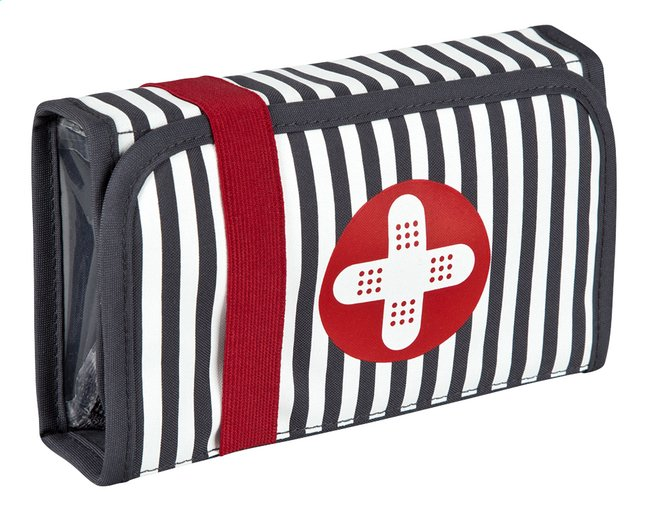 Afbeelding van Lässig Verzorgingsetui First Aid Kit Bandage Ebony Bandage Ebony from Dreambaby