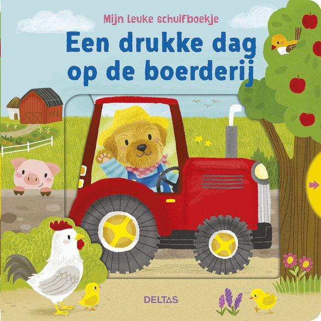 Afbeelding van Babyboek Een drukke dag op de boerderij NL from Dreambaby