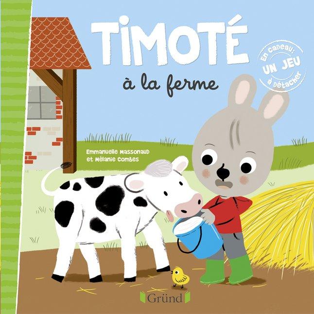 Afbeelding van Babyboek Timoté à la ferme from Dreambaby