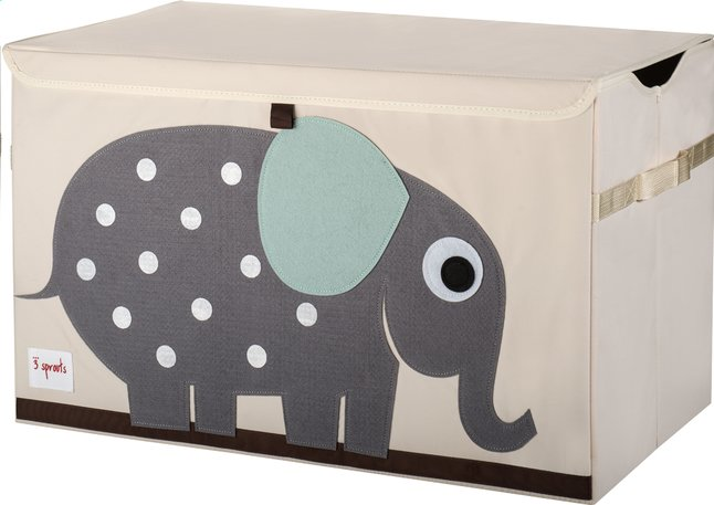 Afbeelding van 3Sprouts Speelgoedkoffer olifant from Dreambaby