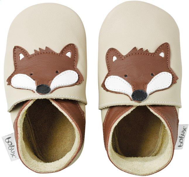 Image pour Bobux Chaussons Soft soles Fox beige à partir de Dreambaby