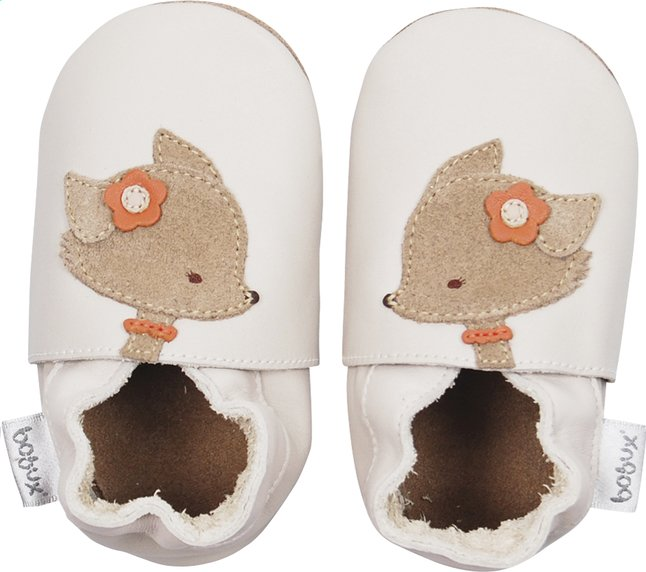 Image pour Bobux Chaussons Soft soles Fawn milk à partir de Dreambaby