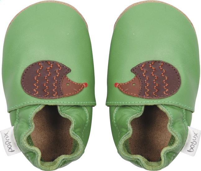Image pour Bobux Chaussons Soft soles Fern Hedgehog vert/brun à partir de Dreambaby