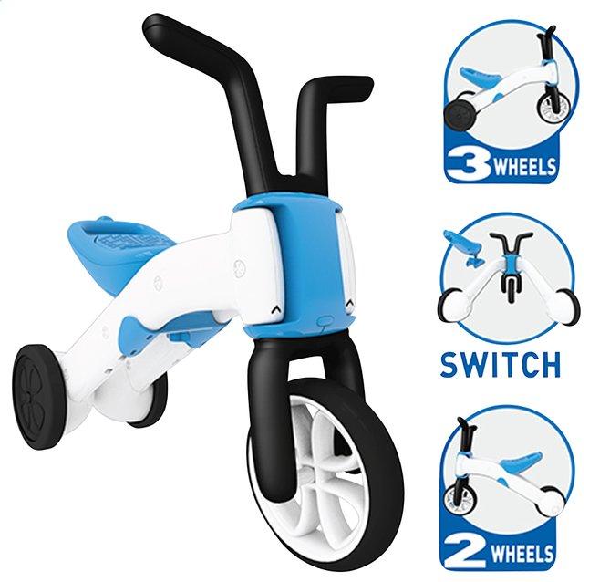 Image pour Chillafish Vélo sans pédales Bunzi bleu/blanc à partir de Dreambaby