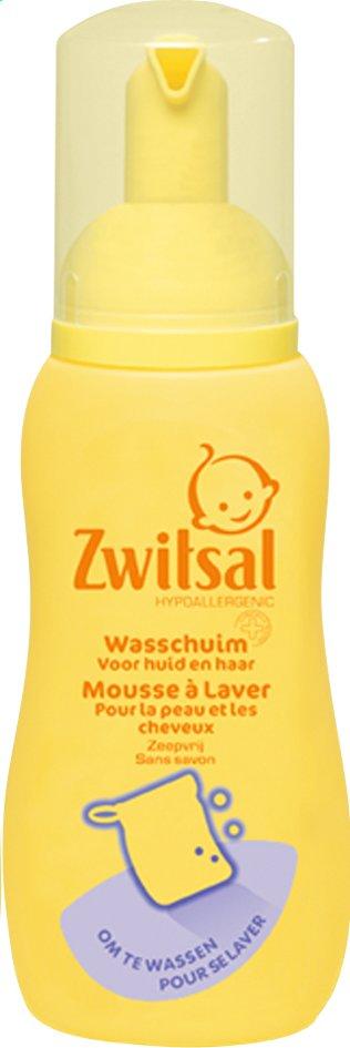 Afbeelding van Zwitsal Wasschuim voor huid en haar 200 ml from Dreambaby